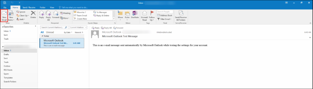 How to Create and Use an Email Template in Outlook 2016, 3013 & 2010