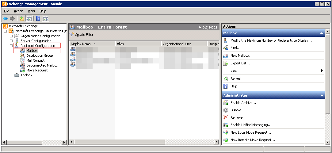 Configure A Shared Mailbox in Exchange 2016, 2013, 2010