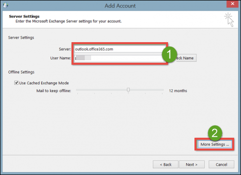 Manually Configure Outlook 2013 / 2010 to Connect to Office 365  Step-by-Step – INVORX Technology Guide – Make Technology Simpler than  Simple With Us