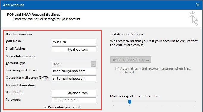 Import Yahoo Mail Folder To Microsoft Outlook 2016 / 2013 - Simplest Way