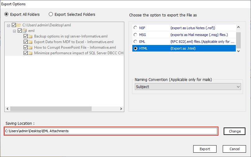 2 Best Ways to Extract Attachments from EML Files Using EML Extractor